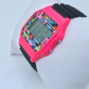Timex Mickey Mouse Ladies Digital Watch PinkBlack